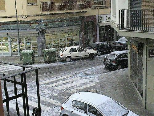 Lleida snow