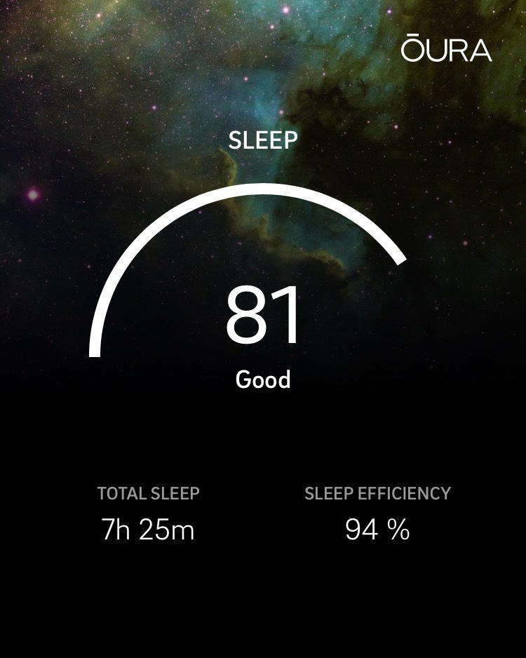 Oura Sleep